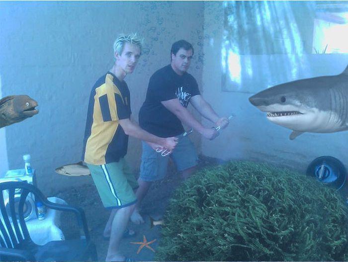 Hilarious Photoshop Trolling. Part 2 (14 pics)