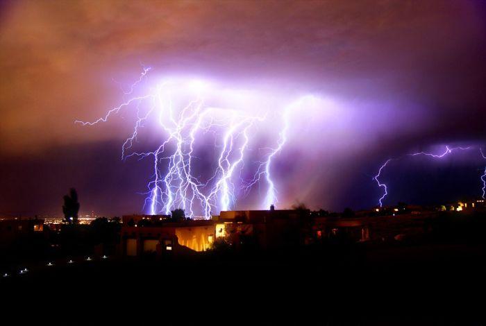 Storm in Albuquerque, New Mexico (37 pics)
