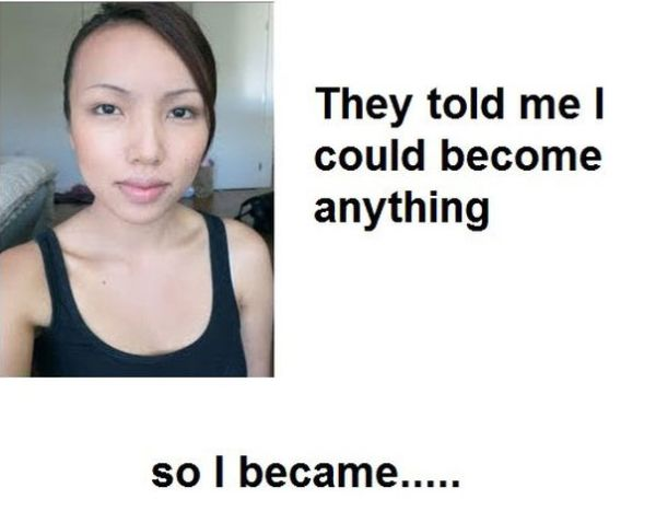 This Girl is Good in Becoming Anything (14 pics)