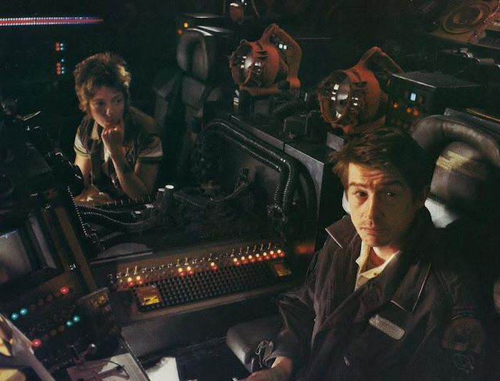 "Behind the Scenes of ""Alien"" (40 pics)"