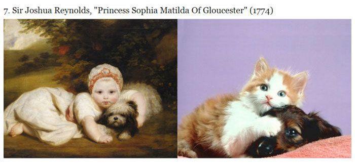 Cats Imitating Art (21 pics)