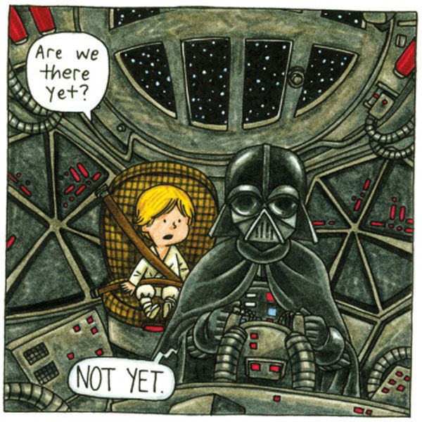 What if Darth Vader Was a Good Daddy (12 pics)