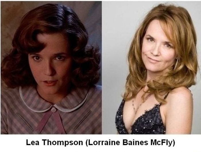 Back to the Future Actors Then and Now (6 pics)