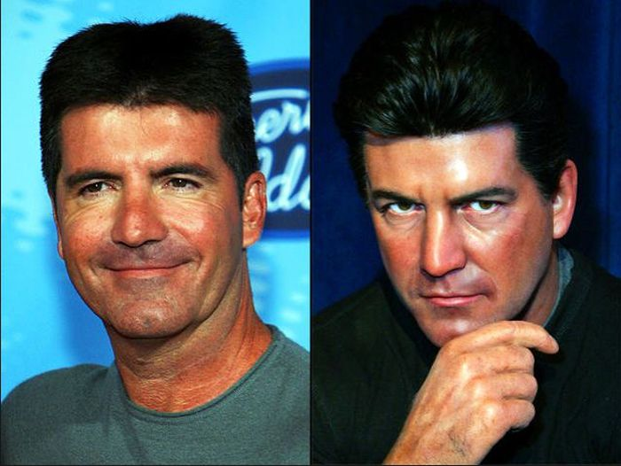 Celebrities Next to Their Wax Look-Alikes (105 pics)