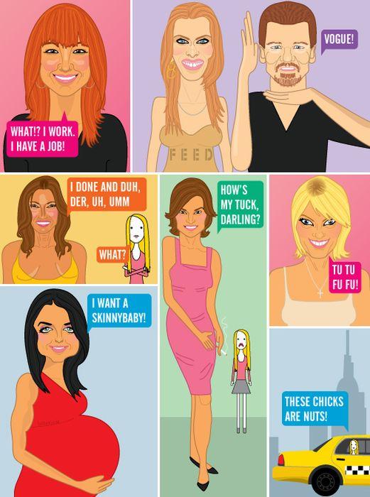 Parodied Celebrities. Part 3 (57 pics)