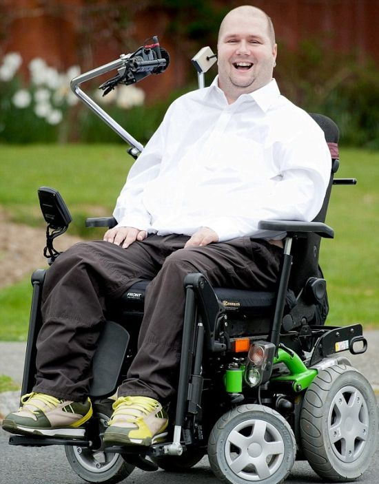 Handicapped Adrenaline Junkie Barry West (20 pics)