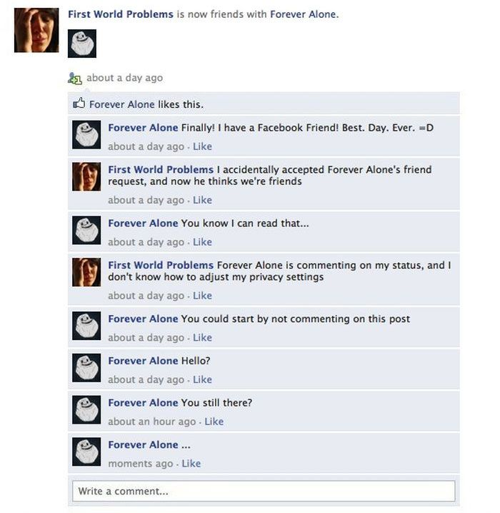 Memes Take Over Facebook (7 pics)