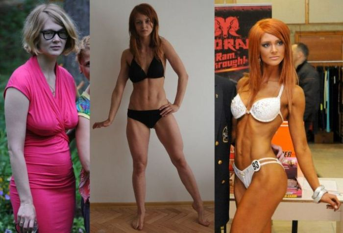 One Year of Workout Can Really Change You (7 pics)