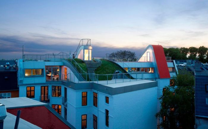 Awesome Roof in Kopenhagen, Denmark (15 pics)