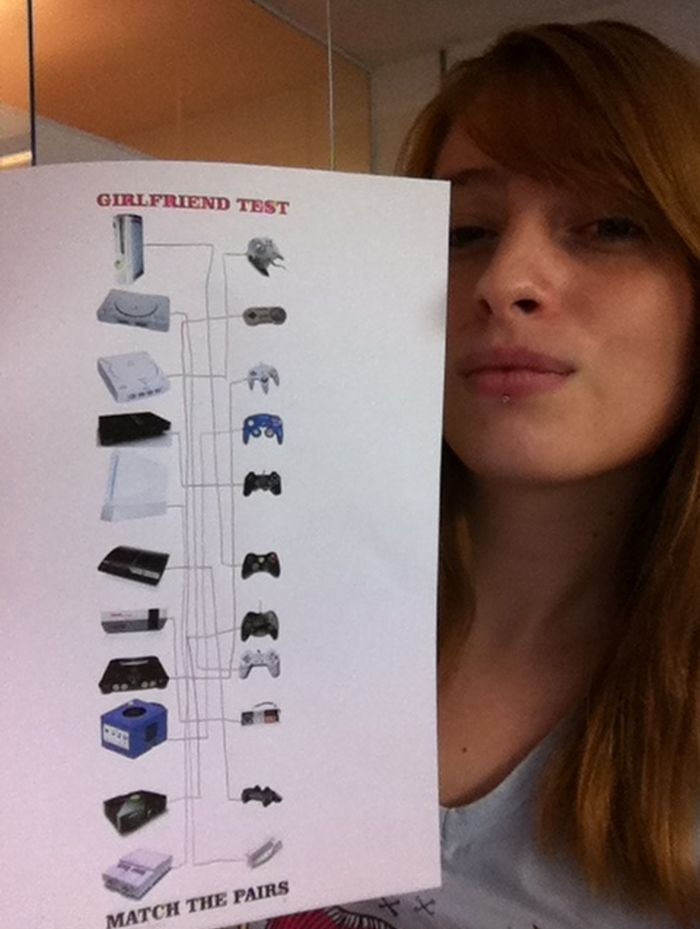 Girlfriend Test (2 pics)