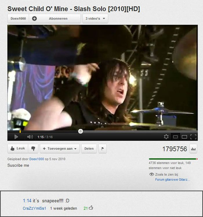 Funny Youtube Comments. Part 3 (21 pics)