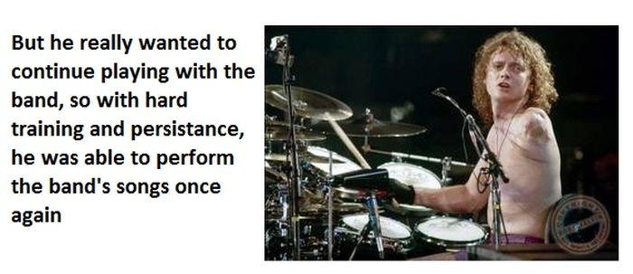 Rick Allen of Def Leppard (6 pics)