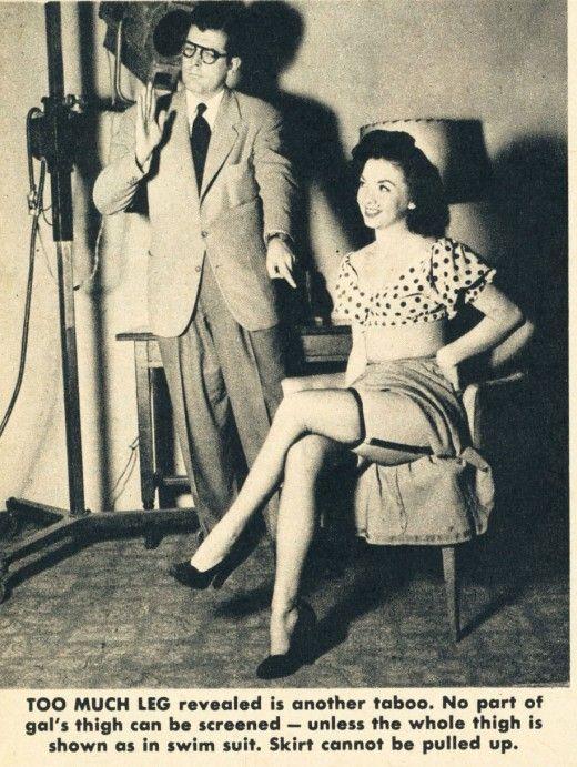 Television Taboos, 1949 (7 pics)