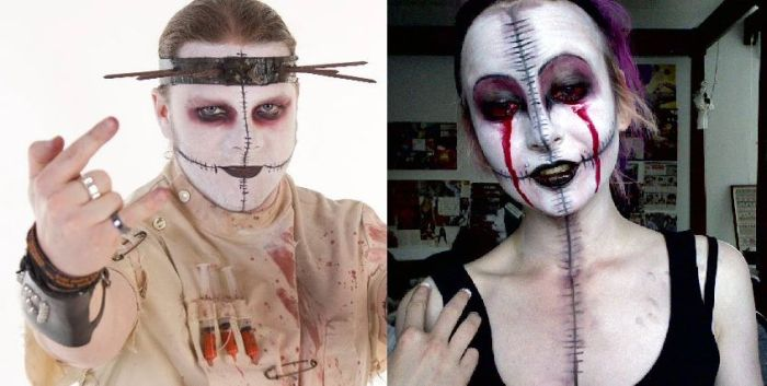 Bizarre Make Up (51 pics)