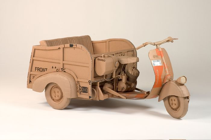 Sculptures Made of Cardboard (33 pics)