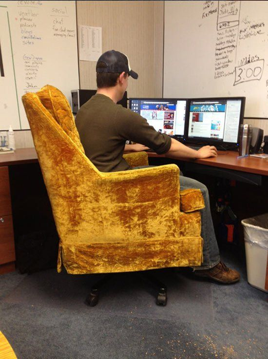 New Office Chair (3 pics)