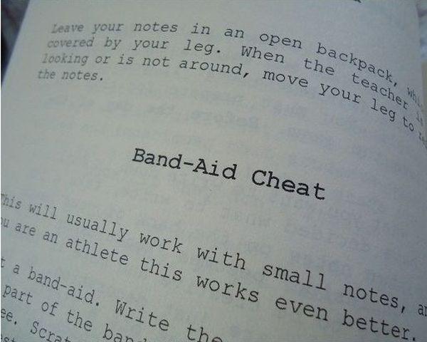 Cheater's Digest (11 pics)