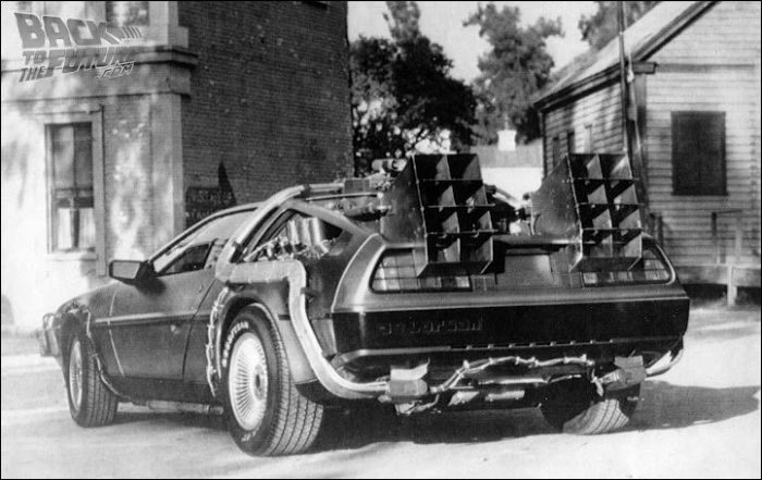 Back To The Future. Behind The Scenes (65 pics)