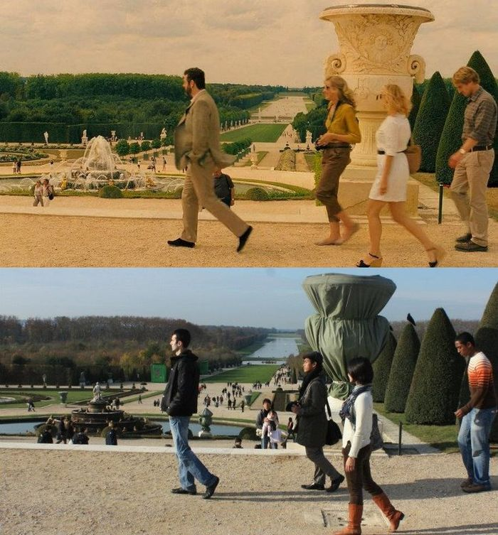 Making Photos at the Shooting Locations of the Movies (25 pics)