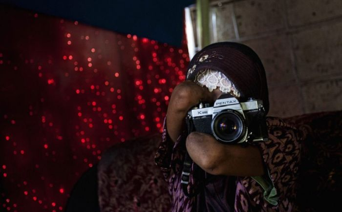 Photographer Without Hands (11 pics)