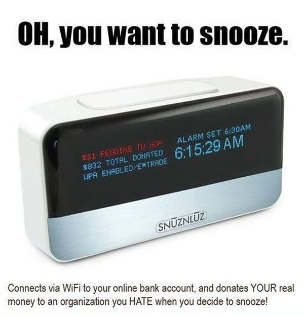 Cool Alarm Clocks That Actually Exist (3 pics)