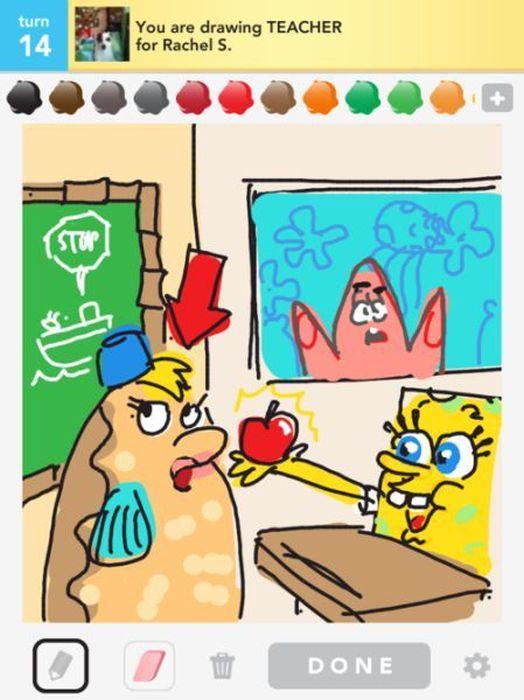 Creative Draw Something Pics. Part 2 (50 pics)