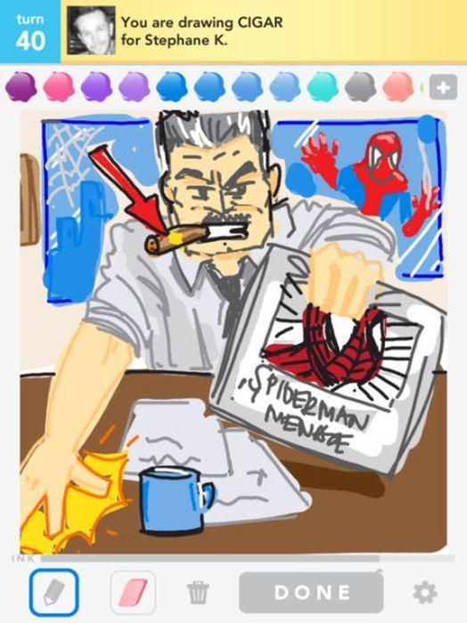 Creative Draw Something Pics. Part 2 (50 pics)