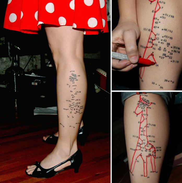 The Connect-the-Dots Tattoo (29 pics)