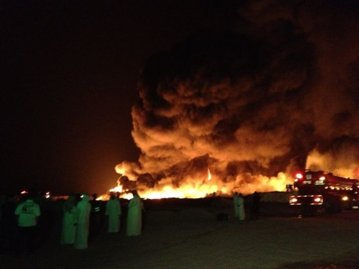 Kuwait Tire Fire (7 pics + video)