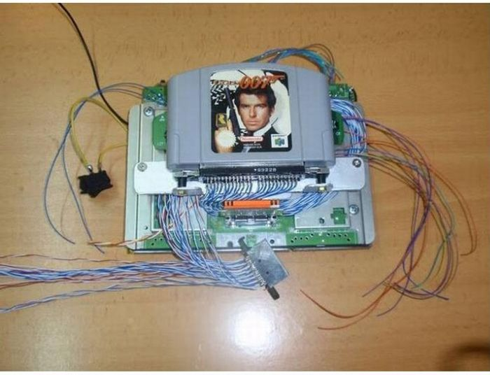 The Second Life of an Old Nintendo 64 (16 pics)