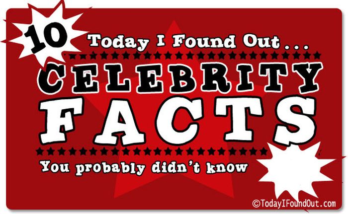 Interesting Celebrity Facts (21 pics)