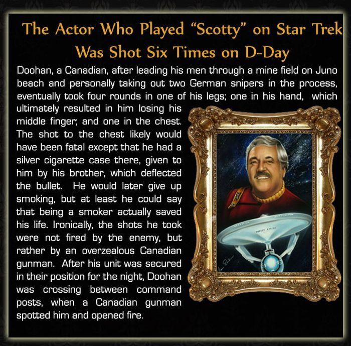 Interesting Celebrity Facts (21 pics)