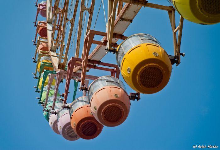 Abandoned Ferris Wheel in Japan (40 pics)