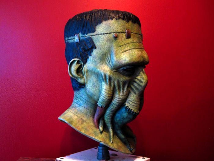 Frankenthulhu Latex Mask (11 pics)