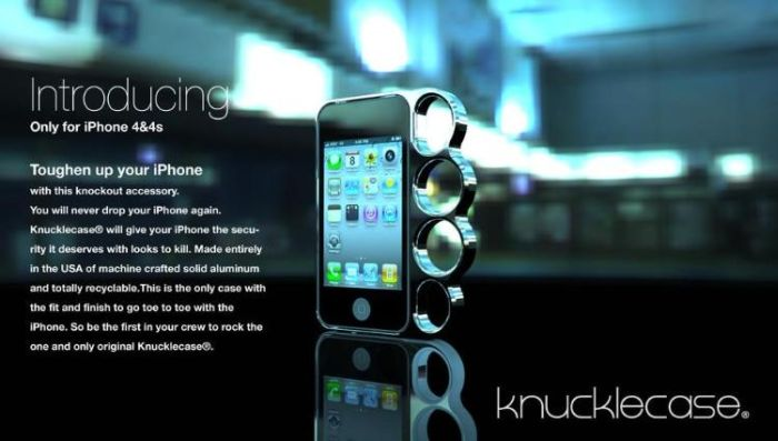 iPhone Case for Self-Defense (6 pics)