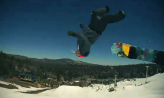 The Most Awesome Snowboarding Trick I Ever Seen
