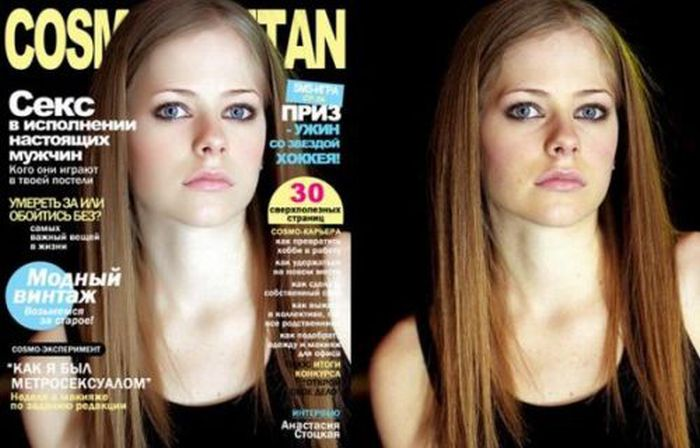 Celebrity Photos Before And After Photoshop (25 pics)