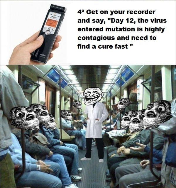Virus Trolling (3 pics)