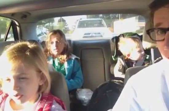 Awesome Bohemian Rhapsody Cover on the Way to School