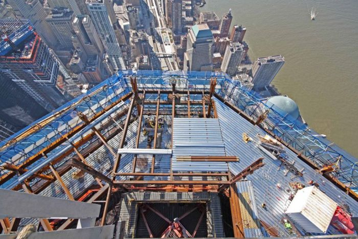 Construction of One World Trade Center (25 pics)