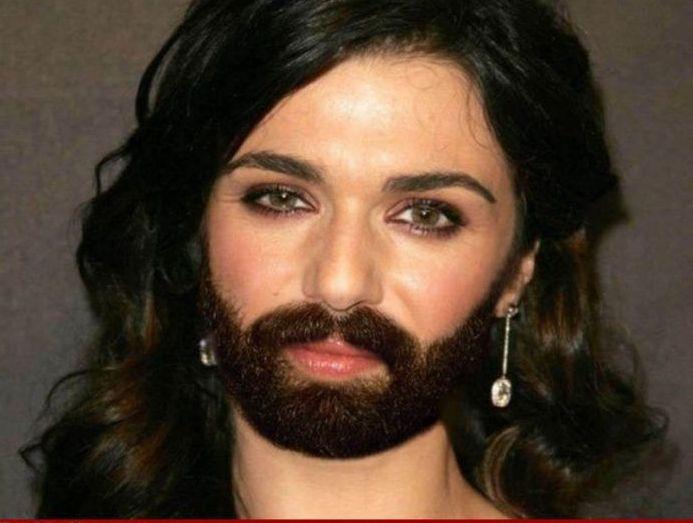 Celebrities with Beards (48 pics)