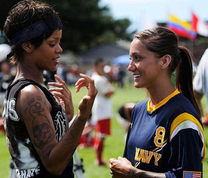 Jackie Carrizosa, Rihanna's Battleship Mentor (9 pics)