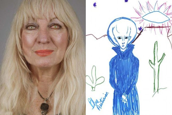 Alien Abductees and Their Drawings (25 pics)
