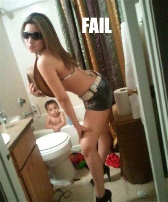 Mom fail nude not