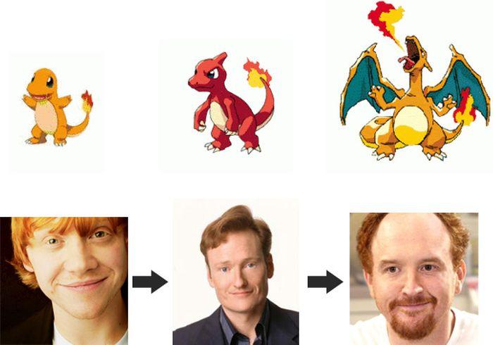 Celebrities Who Evolved Like Pokemons (11 pics)