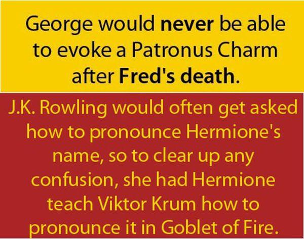 Interesting Harry Potter Facts (10 pics)