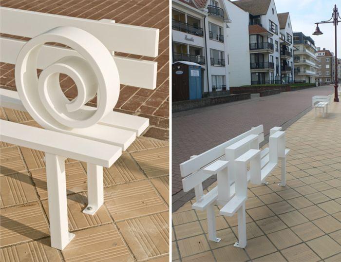 Weird Benches (19 pics)