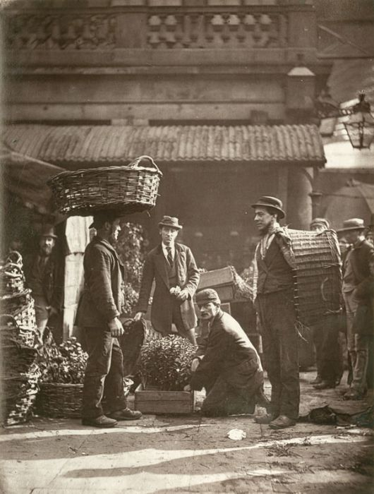 Streets of London, 1876-1877 (35 pics)