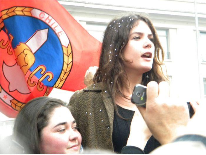 Cute Communism Activist Camila Vallejo (50 pics)