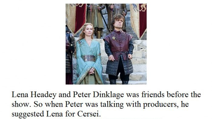 Game of Thrones Facts (15 pics)